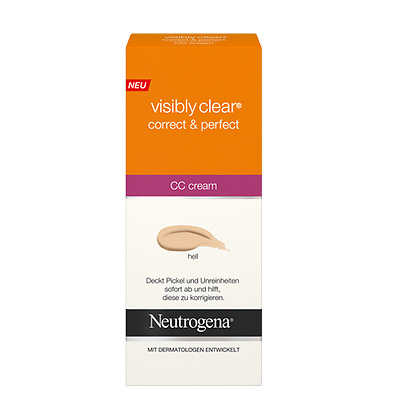 Neutrogena Visibly Clear Correct and Perfect CC Cream 50ml - (hell)