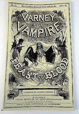 Penny Dreadful Varney the Vampire prop from Showtime show Dracula