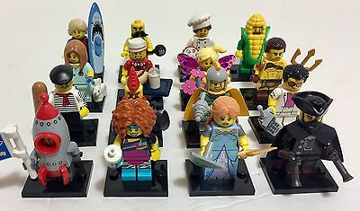 LEGO Series 17: Complete Set Of 16 Figures New Out Of Package! 71018  Full Set
