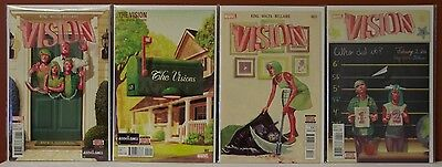The Vision #1-4    NM+      MARVEL COMICS