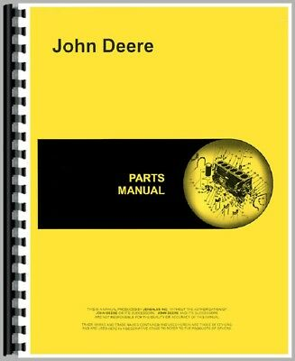 New Parts Manual For John Deere 830 Tractor (3 Cylinder)