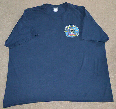 Boston Rescue 2 Fire Department Special Operations Shirt 3XL