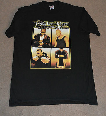 Vtg Hard Knock Life Ryde or Die Concert Tour Shirt Jay Z DMX Redman Rap Hip Hop