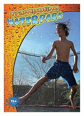 Trampoline Waterpark - Fun Summer Outdoor Water Game Toys Accessories - Best For