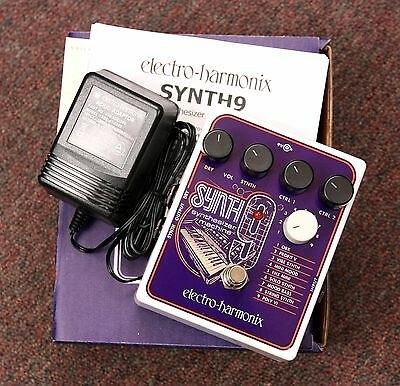 ELECTRO HARMONIX Synth 9 Synthesizer Machine Electric Guitar EFFECTS PEDAL