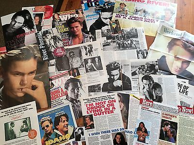 River Phoenix - Magazine Clippings (Australia)