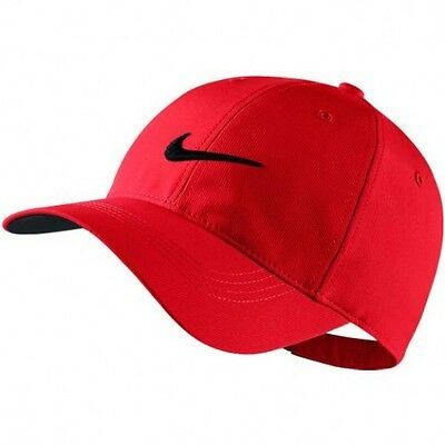 Nike Swoosh Golf Cap Red, Unisex Size - NEW!!