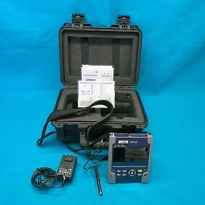 JDSU T-Berd 2000 Handheld Fiber Optic Tester W/ Option 4126 LA, P/S & Hard Case