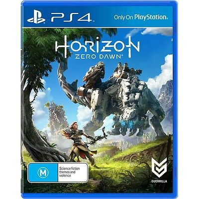 Horizon Zero Dawn PS4 Game Brand New and Sealed, AUS version, AUS Stock