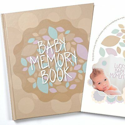 Baby Memory Book And Keepsake For Baby's First Year - A Scrapbook / Photo Album