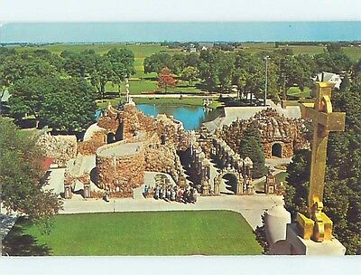 Unused Pre-1980 GROTTO OF REDEMPTION West Bend Iowa IA hn1942