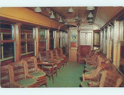 Unused Pre-1980 TRAIN CAR AT TROLLEY MUSEUM Branford Connecticut CT hn2805