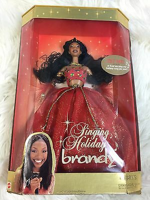 2000 Mattel Singing Holiday Brandy Doll.  Barbie.  New In Box Does Work