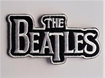 The Beatles embroidered applique iron-on patch