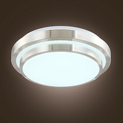 LED Acrylic 15W Modern Flush Mount Lamp Ceiling Light for Bedroom Dining Room