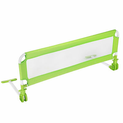 Safety barrier for children's bed - green - fall protection - 102 cm