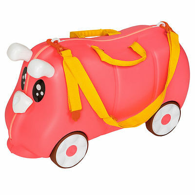 Children's toy case with wheels - rigid type - ideal playroom
