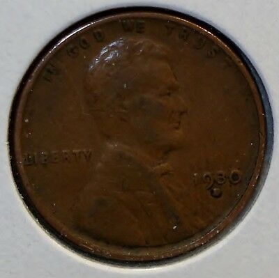 1930-D Lincoln Head Cent with Repunched Mintmark