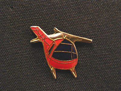 Helicopter Small Vintage Lapel Pin Uk Import