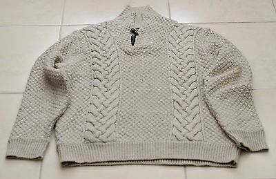 Men's Ambrose Brand & Co knit acrylic-wool pullover jumper size XL