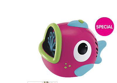 Switch adapted special needs Elc Bubble Fish machine