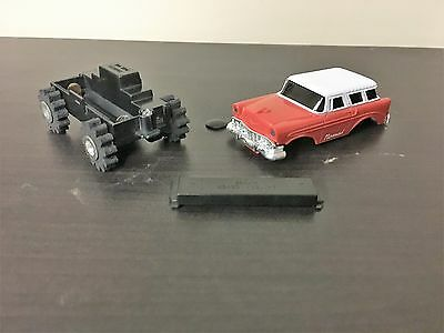 Vintage Rare Schaper Stomper Chevy Nomad 4 X 4 RED Toy Truck Vehicle