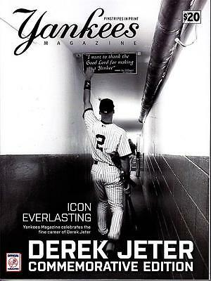 Derek Jeter Ny New York Yankees 2014 Final Season Official Stadium Magazine Sga