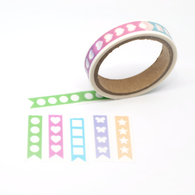 Washi Tape - Serrated - Planner To Do Check List 10mm x 5m Cute