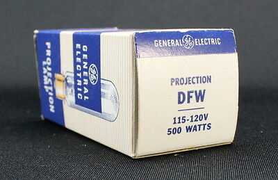 NEW GE General Electric Projector Projection Lamp Bulb DEK/DFW/DHN 500W 120V