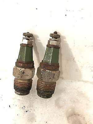 Vintage Antique Splitdorf  Valve Cage Spark Plug Cadillac Packard Pierce Arrow