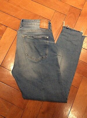 Mango ISA - Jeans Skinny Fit - light blue, Gr. 40