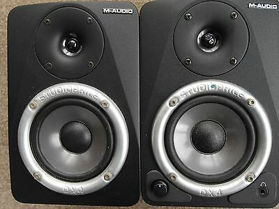 M-Audio Studiophile DX4 Powered Studio Nearfield Monitors.