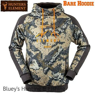Hunters Element Mens Hunting Bare MMIV Camo Hoodie; NEW