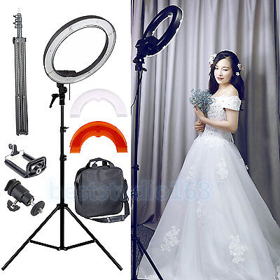 Dimmable Diva 35W 30cm LED Studio Ring Light Beauty Make Up Selfie Video Photo