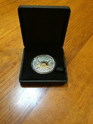 Chief of Australian Army Medallion in Leather Case