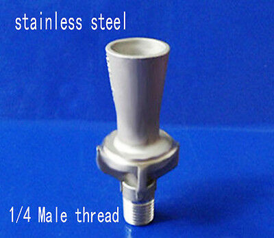 1/4 3/8 1/2' SS304 stainless steel venturi spray nozzle injector jetting eductor