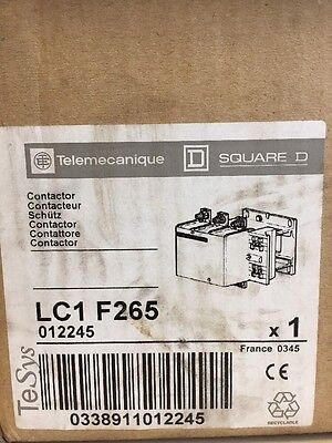 Telemecanique LC1 F265 Contactor New