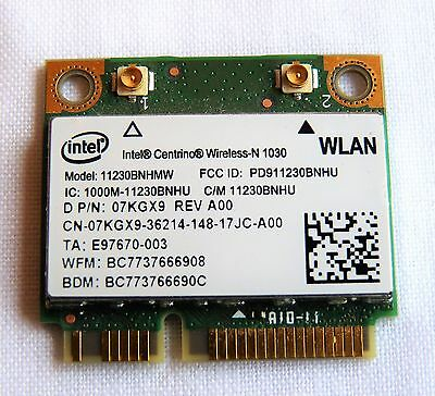 Original Dell Inspiron N7110 Intel Wireless Adapter Card WLAN DP/N 07KGX9