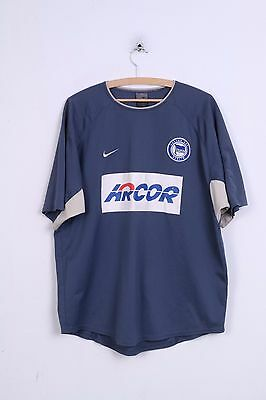 Nike Mens XL Shirt Hertha BCS Berlin Football Club Germany Jersey