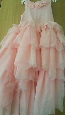 Girls dress bridesmaid, party wedding worn once 5 6 H&M next day