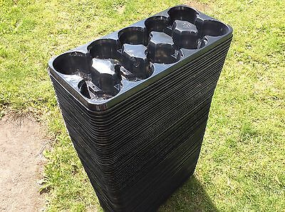 Joblot of 102 x Plant Pot Trays to each hold 10 Plant Pots of up to 12cm