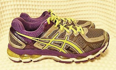 Near New Asics Gel-Kayano 21 Womens Running Sports Shoes Size 39.5 Or 8 Us