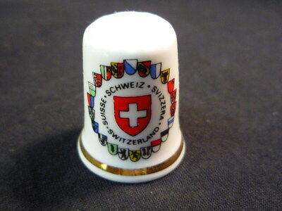 Switzerland China Thimble