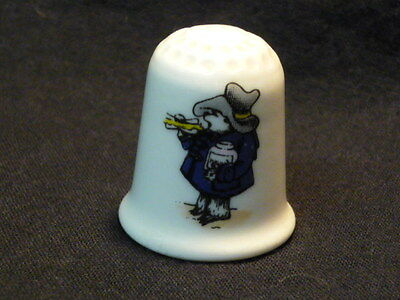 Paddington Bear Takes a Snack Coalport China Thimble