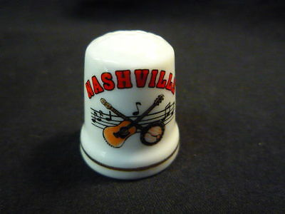 Nashville USA China Thimble