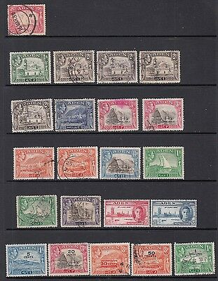 Aden: Old stamps