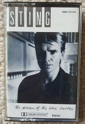 Sting...the dream of the turtles cassette tape