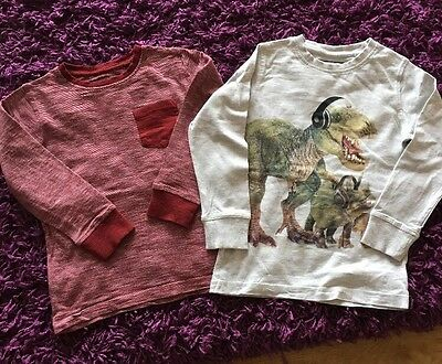 Next 2 Long Sleeve T-shirt Style Tops Age 5