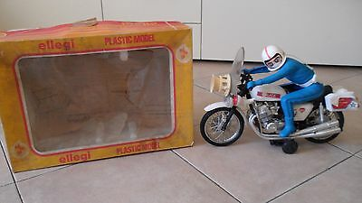 Moto polizia ,ellegi plastic model, made in italy, epoca, anni 60-70, VINTAGE
