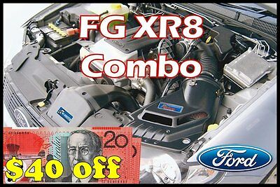 Ford Fg Xr8 Growler Combo - Ss Inductions Growler Cold Air Induction